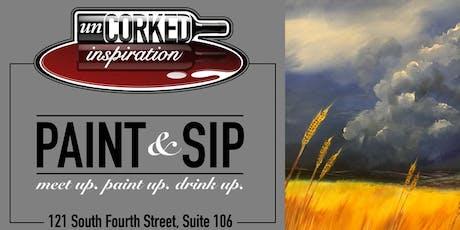 Paint & Sip | Kansas Storm tickets