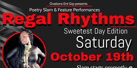 Regal Rhythms - Poetry Slam & Featured Spoken Word tickets