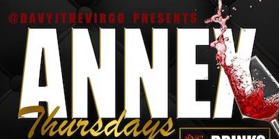 Annex Thursdays Presented by: @DavyJTheVirgo