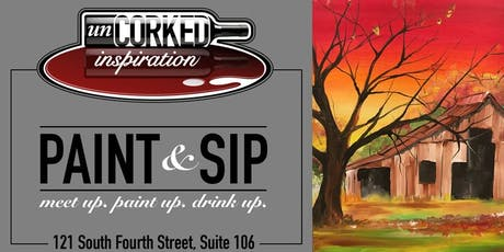 Paint & Sip | Fall Barn tickets