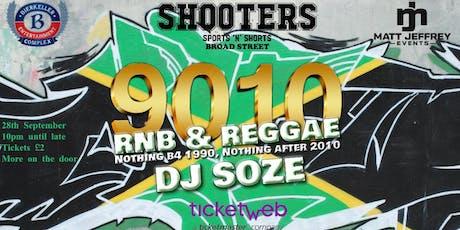 9010 RnB & Reggae tickets