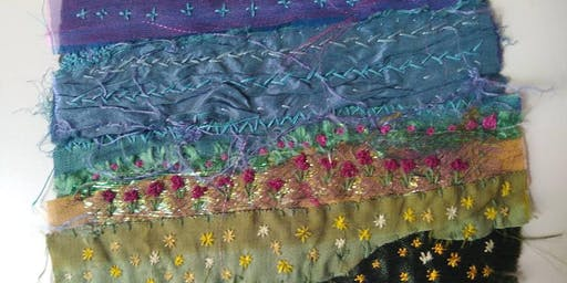 Hand Embroidered Landscapes Textile and Embroidery Workshop