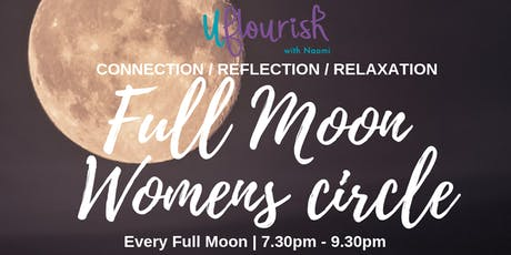 December Women's Circle on the Full Moon tickets