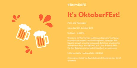 #BrewED FE OktoberFEst tickets