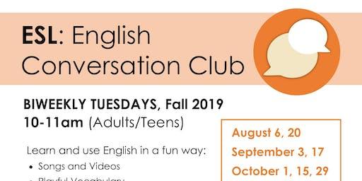 ESL Conversation Club
