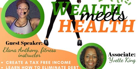 Wealth Meets Health  tickets