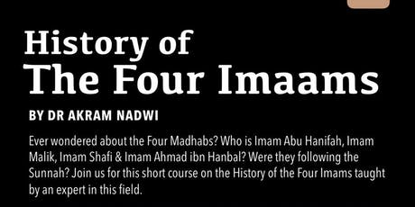 History Of The Four Imams tickets