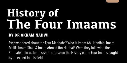 History Of The Four Imams