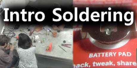 Intro to Soldering tickets