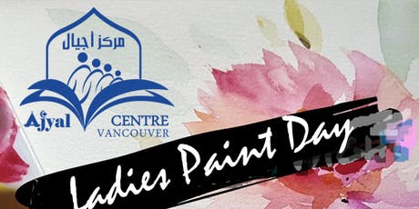The art of happiness, ladies  painting g day tickets