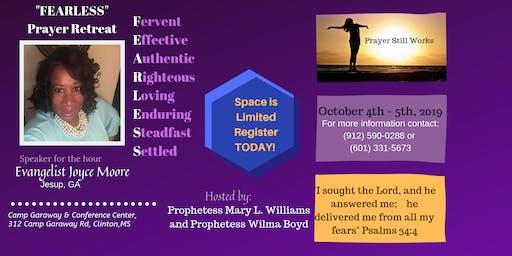 FEARLESS Prayer Retreat