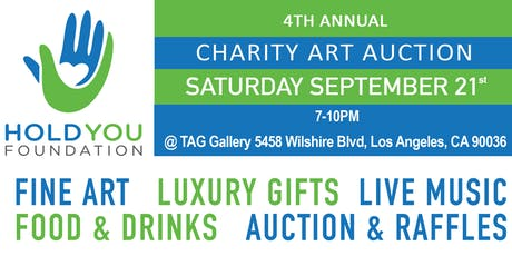 4th Annual HoldYou Foundation Art Auction and Gala tickets