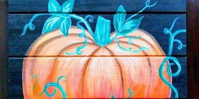 """Paint & Pints """"Pumpkin Pallet"""""""