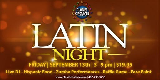 Latin Night at Planet Obstacle