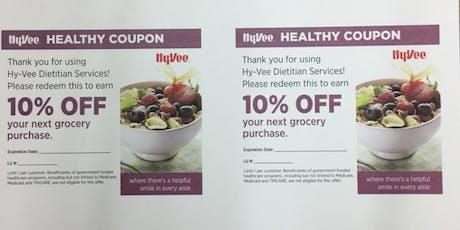 Nutrition Walk in the Aisles - Diabetes tickets