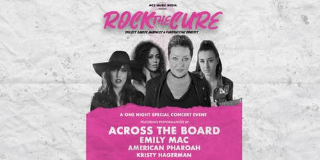 Rock The Cure featuring Across The Board, Emily Mac & more tickets