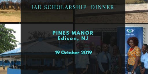 IAD Scholarship Dinner Banquet:(Oct 19, 2019)