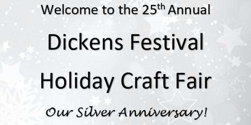 Artisan Registration for The Dickens Festival 2019