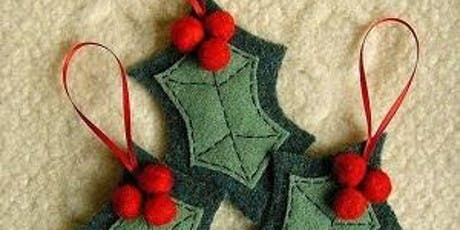 Felt Christmas Ornaments - Main Branch tickets