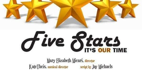 Five Stars It's Our Time tickets