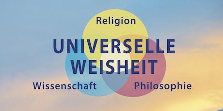 Theosophy talks - Universelle Weisheit - Religion+Philosophie+Wissenschaft Tickets