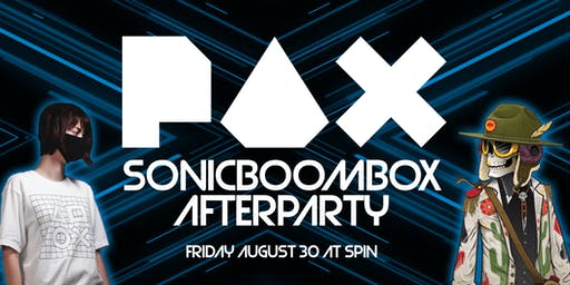 Sonicboombox PAX Afterparty
