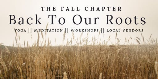 The Fall Chapter: Back To Our Roots