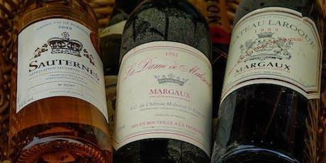 """Deciphering Wine Labels"" Wine Tasting tickets"