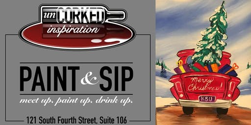 Paint & Sip | Christmas Truck