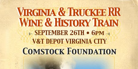 Virginia & Truckee Railroad Wine & History Train tickets