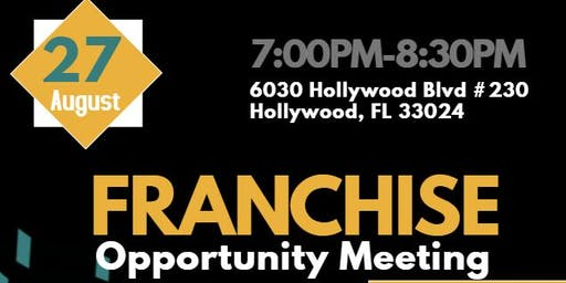 Franchise Opportunity Meeting