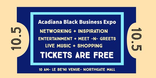 Acadiana Black Business Expo  Attendee