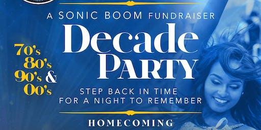 "Sonic Boom Alumni Association""Decade Party"""