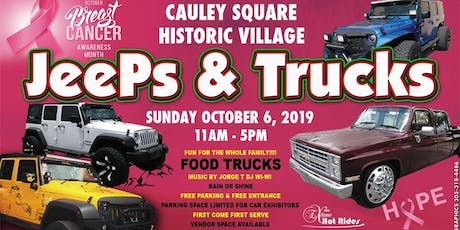 Cauley Square Jeeps & Truck Show tickets