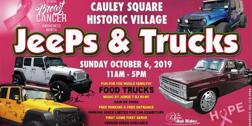Cauley Square Jeeps & Truck Show