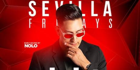 SEVILLA FRIDAYS with DJ ELEKT | The Hottest Club in DTLB tickets