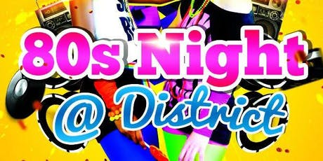 80's Night With DJ Silver tickets