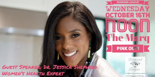 October Pink Out Lunch with Dr. Jessica Shepherd