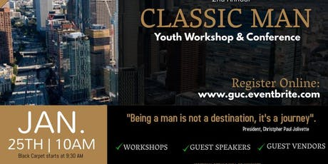 Classic Man - 2020 Youth Workshop & Conference tickets
