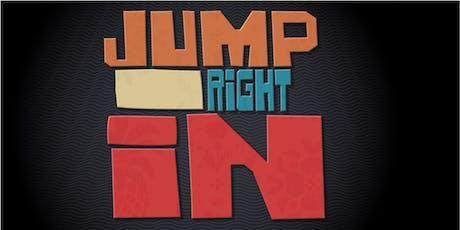 JUMP RIGHT IN Volunteer Fair tickets