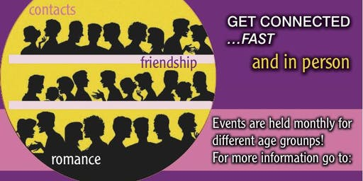 Speed Dating Event 45+ Age Group!! RSVP TODAY!