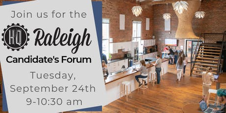 HQ Raleigh Candidates Forum tickets