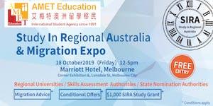 Melbourne - AMET SIRA (Study In Regional Australia) &...