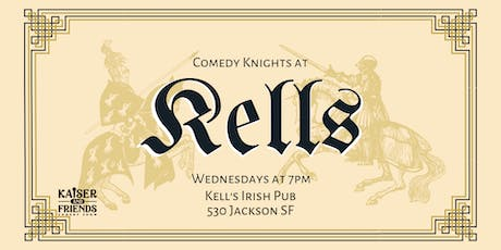 Comedy Knights at Kells tickets