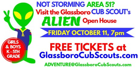Glassboro Cub Scout Alien Open House for Girls and Boys K to 5th Grade tickets