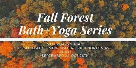 Fall Forest Bath+Yoga 5 Week Series tickets