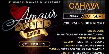 Amour Speed Dating tickets