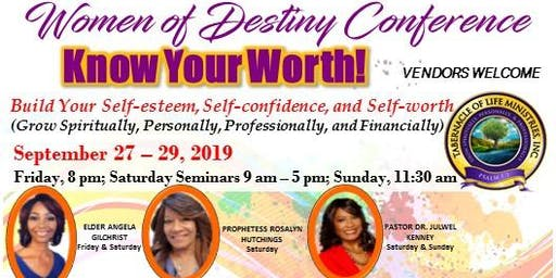 Tabernacle of Life Ministries Women of Destiny Women's Conference 2019