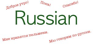 Russian lessons with Native speaker