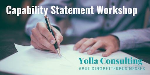 Preparing Capability Statements